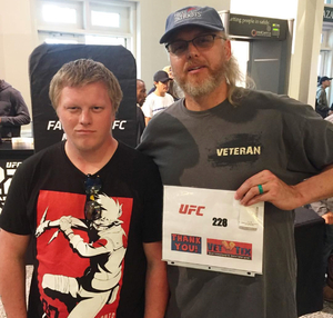 Robert attended UFC 228 - Mixed Martial Arts on Sep 8th 2018 via VetTix