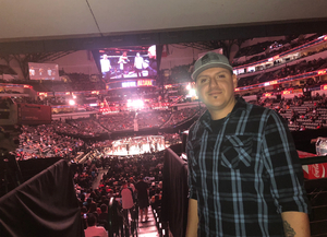 Ramon attended UFC 228 - Mixed Martial Arts on Sep 8th 2018 via VetTix