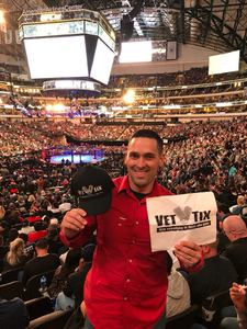 Brandon attended UFC 228 - Mixed Martial Arts on Sep 8th 2018 via VetTix