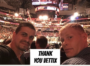 Andres attended UFC 228 - Mixed Martial Arts on Sep 8th 2018 via VetTix