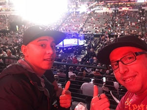 Anthony attended UFC 228 - Mixed Martial Arts on Sep 8th 2018 via VetTix