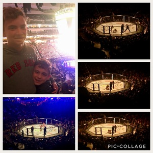 Chris attended UFC 228 - Mixed Martial Arts on Sep 8th 2018 via VetTix