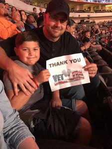 Joshua attended UFC 228 - Mixed Martial Arts on Sep 8th 2018 via VetTix