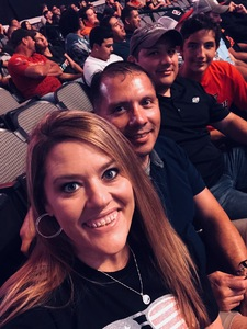 Gabe attended UFC 228 - Mixed Martial Arts on Sep 8th 2018 via VetTix