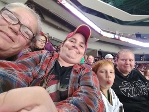 Jessica attended Utah Grizzlies vs. Rapid City - ECHL - Home Opener - Regular Tickets on Oct 12th 2018 via VetTix