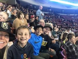 Erik attended Utah Grizzlies vs. Rapid City - ECHL - Home Opener - Regular Tickets on Oct 12th 2018 via VetTix