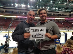 David attended Utah Grizzlies vs. Rapid City - ECHL - Home Opener - Regular Tickets on Oct 12th 2018 via VetTix
