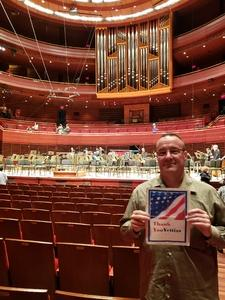Anthony attended South American Sounds - Presented by the Philadelphia Orchestra on Oct 6th 2018 via VetTix