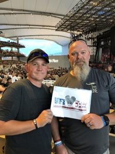 Steven attended Deep Purple and Judas Priest - Pop on Sep 12th 2018 via VetTix