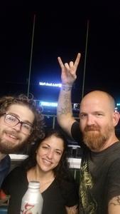 Lucas attended Deep Purple and Judas Priest - Pop on Sep 12th 2018 via VetTix