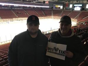 Jeffrey attended Utah Grizzlies vs Rapid City - ECHL - Star Wars Night - Regular Tickets on Dec 15th 2018 via VetTix
