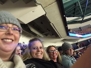Adrienne attended Utah Grizzlies vs. Wichita Thunder - ECHL - Regular Tickets on Jan 5th 2019 via VetTix