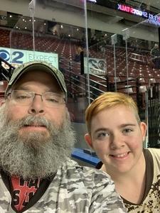 Jeffrey attended Utah Grizzlies vs. Wichita Thunder - ECHL - Regular Tickets on Jan 5th 2019 via VetTix