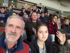 Charles attended Utah Grizzlies vs. Wichita Thunder - ECHL - Regular Tickets on Jan 5th 2019 via VetTix