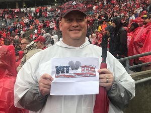 Michael attended Ohio State Buckeyes vs. Rutgers Scarlet Knights - NCAA Football on Sep 8th 2018 via VetTix