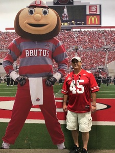 Ronald attended Ohio State Buckeyes vs. Rutgers Scarlet Knights - NCAA Football on Sep 8th 2018 via VetTix