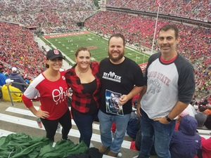 Matthew attended Ohio State Buckeyes vs. Rutgers Scarlet Knights - NCAA Football on Sep 8th 2018 via VetTix