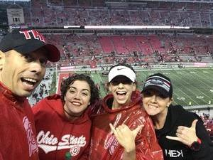Andrew attended Ohio State Buckeyes vs. Rutgers Scarlet Knights - NCAA Football on Sep 8th 2018 via VetTix