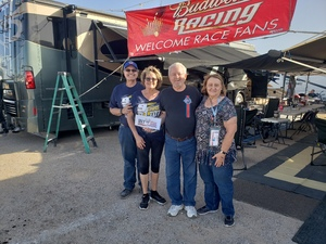 Gary attended Can-am 500 - Ism Raceway on Nov 11th 2018 via VetTix