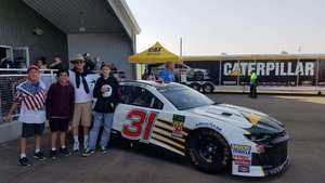 Scott attended Can-am 500 - Ism Raceway on Nov 11th 2018 via VetTix