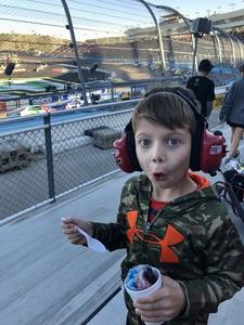 Justin attended Can-am 500 - Ism Raceway on Nov 11th 2018 via VetTix