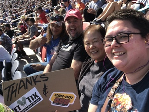 Jerry attended Can-am 500 - Ism Raceway on Nov 11th 2018 via VetTix