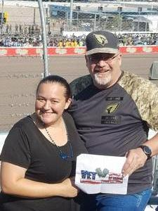 Christopher attended Can-am 500 - Ism Raceway on Nov 11th 2018 via VetTix