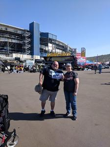 Gary attended Can-am 500 - Ism Raceway on Nov 11th 2018 via VetTix