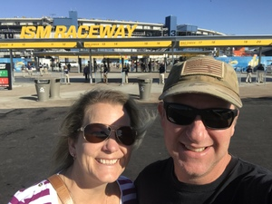 Donald attended Can-am 500 - Ism Raceway on Nov 11th 2018 via VetTix