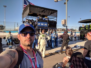 Jeffrey attended Can-am 500 - Ism Raceway on Nov 11th 2018 via VetTix