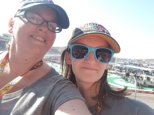 Jessica attended Can-am 500 - Ism Raceway on Nov 11th 2018 via VetTix