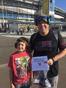 Joe attended Can-am 500 - Ism Raceway on Nov 11th 2018 via VetTix