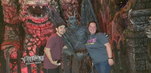 David attended Netherworld Haunted House - Good for Specific Days Only - Please Read Below on Oct 7th 2018 via VetTix