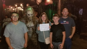Richard attended Netherworld Haunted House - Good for Specific Days Only - Please Read Below on Oct 7th 2018 via VetTix