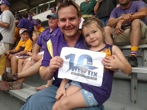 Click To Read More Feedback from LSU Tigers vs. Southeastern Louisiana - NCAA Football
