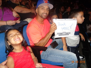 Denise attended Disney on Ice Presents Mickey's Search Party on Sep 9th 2018 via VetTix