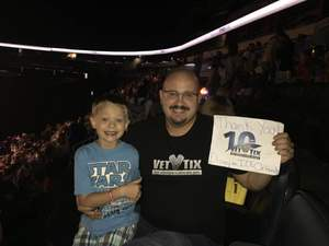 Joel H attended Disney on Ice Presents Mickey's Search Party on Sep 9th 2018 via VetTix