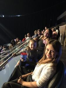 Sanders family attended Disney on Ice Presents Mickey's Search Party on Sep 9th 2018 via VetTix