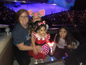 Nancy attended Disney on Ice Presents Mickey's Search Party on Sep 9th 2018 via VetTix