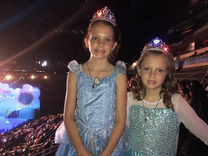 Cody attended Disney on Ice Presents Mickey's Search Party on Sep 9th 2018 via VetTix