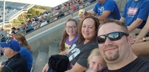 Lisa attended University of Buffalo Bulls vs. Eastern Michigan Eagles- NCAA Football on Sep 15th 2018 via VetTix