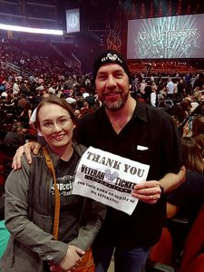 Steven attended Game of Thrones Live Concert Experience on Sep 12th 2018 via VetTix