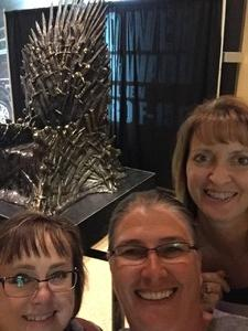 Clifford attended Game of Thrones Live Concert Experience on Sep 12th 2018 via VetTix