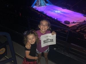 Jonathan attended Disney on Ice - Frozen on Sep 15th 2018 via VetTix