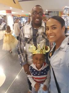 Lavon attended Disney on Ice - Frozen on Sep 15th 2018 via VetTix