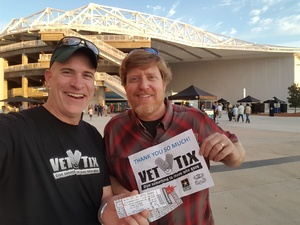 Mike attended Sting & Shaggy - Pit Tickets on Sep 14th 2018 via VetTix