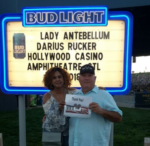 Click To Read More Feedback from Lady Antebellum & Darius Rucker Summer Plays on Tour - Country