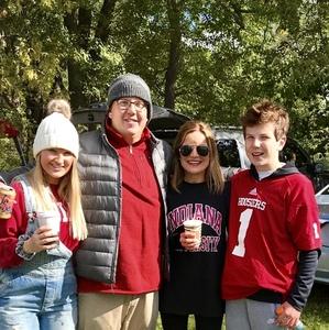 Ronald attended Indiana Hoosiers vs. Iowa Hawkeyes - NCAA Football on Oct 13th 2018 via VetTix