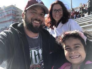 Joseph attended Indiana Hoosiers vs. Iowa Hawkeyes - NCAA Football on Oct 13th 2018 via VetTix