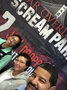 Pat Mendez attended Fear Overload Scream Park - Sept 28 or Sept 29 Only on Sep 28th 2018 via VetTix